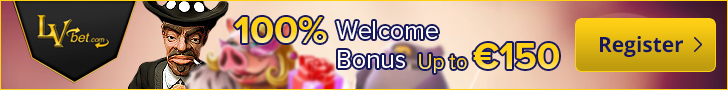 LVbet Welcome Bonus 100% up to €150