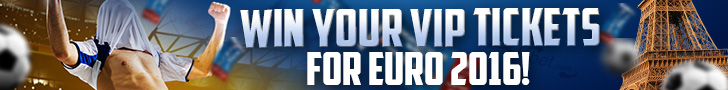 LVbet – win Your VIP Ticket Germany – Poland for Euro 2016 + 10 free spins No Deposit